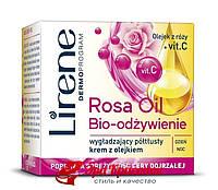 Разглаживающий крем для лица с маслом розы Lirene, 50мл 108350231