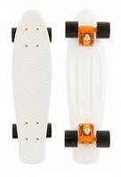 Скейтборд Penny Color Point Fish SK-403-14 белый/оранжевый/черный