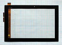 Тачскрин сенсорное стекло для Asus EEE Pad Transformer TF101 black