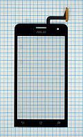 Тачскрин сенсорное стекло для Asus Zenfone 5 black