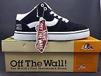 """Кроссовки Vans Off The Wall """"Anti Hero"""", цвет черный"""