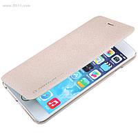 "Чехол Nillkin Sparkle Leather Case для Apple iPhone 6s Plus, iPhone 6 Plus (5.5"") Shampaign Gold"