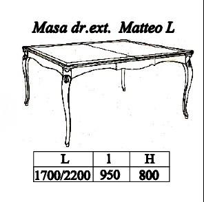 Стол прямоугол. раскладной
