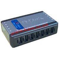 Концентратор USB2.0 HUB D-Link DUB-H7 7port