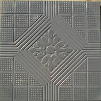 Формы для тротуарной плитки «Орнамент №8» глянцевые пластиковые АБС ABS, фото 1