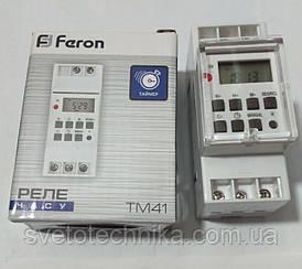 Реле времени  Feron TM41