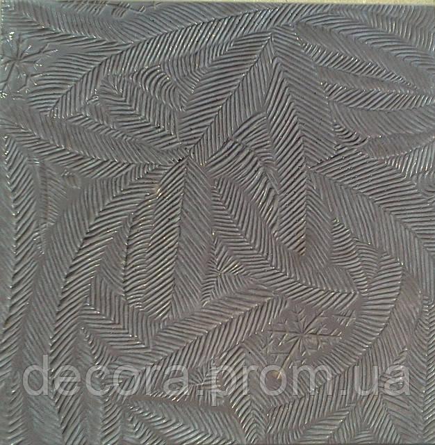 Формы для тротуарной плитки «Папоротник» глянцевые пластиковые АБС ABS