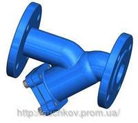 Фильтр грубой очистки фланцевый (грязеуловитель) Dn80 Polix