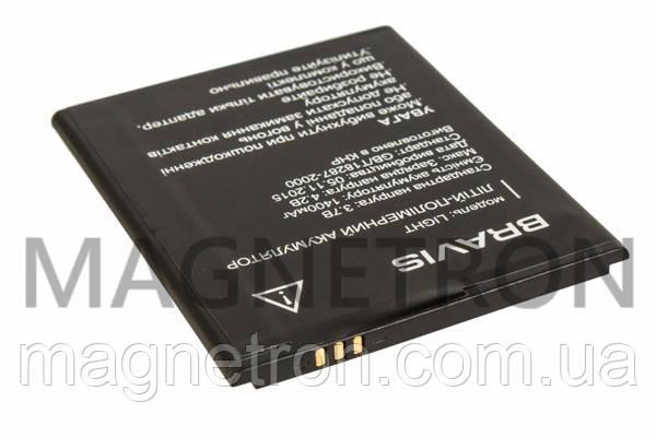 Аккумуляторная батарея Li-Polymer 1400mAh для мобильных телефонов Bravis LIGHT, фото 2