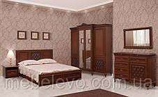Кровать Ливорно 180 2-сп 1060х1996х2095мм Світ Меблів, фото 2
