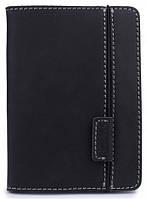 """Удобный кожаный чехол для электронных книг 6"""" Black Brier PR6V-35 черный"""