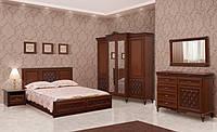 Спальня Ливорно комплект №1 Світ Меблів Прованс темный