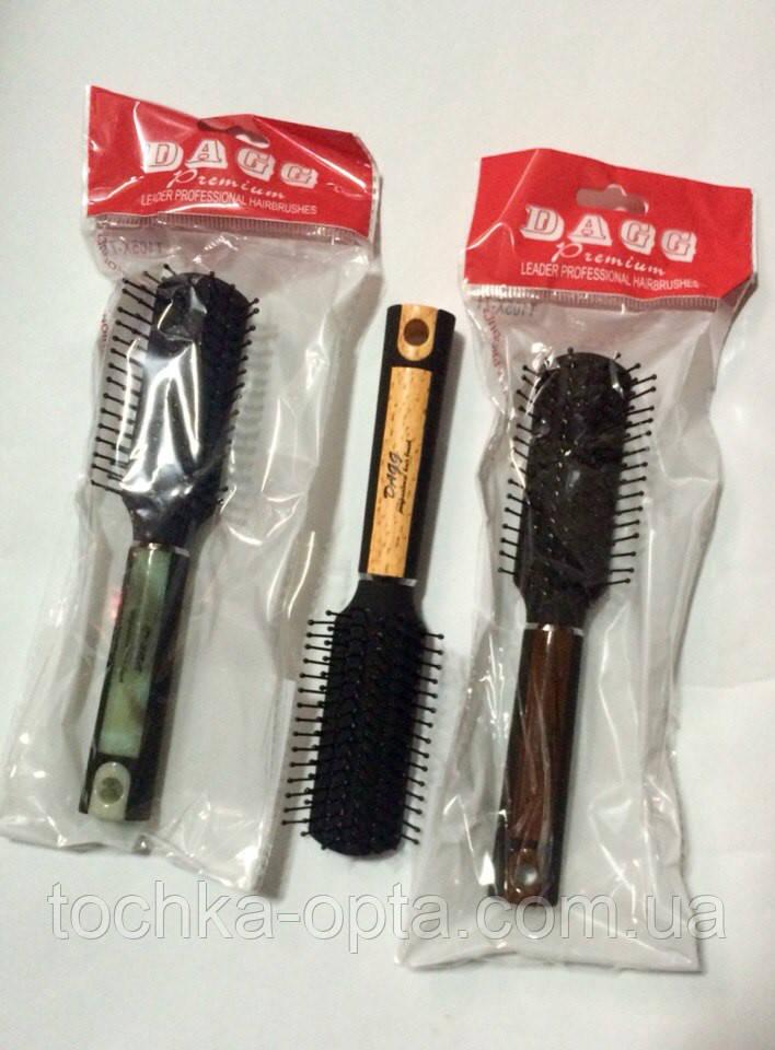 """Массажная щётка для волос Dagg""""Premium""""маленькая 105x-7t"""
