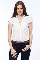 Белая женская рубашка от Bershka в размере XL