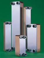 Паянные теплообменники 30-1000 кВт. для ГВС и отопления