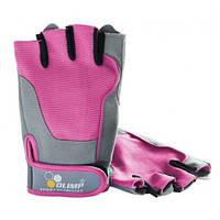 Женские перчатки Olimp Hardcore Fitness One Pink