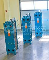 Пластинчатые разборные теплообменники от 100-1000 кВт. для отопления и ГВС