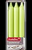 Profissimo Leuchterkerzen grün - Свечи зелёные длина: около 180 мм, диаметры около 21,5 мм, 9 шт.