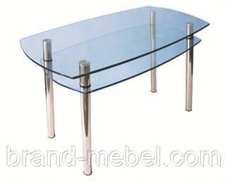 Стол стеклянный КС-2 прозрачный