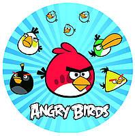 Angry Birds 3 Вафельная картинка