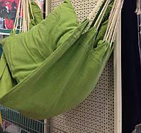 Кресло- гамак хлопковый  130x100cm.с подушками