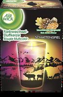 AirWick Farbwechsel Kerze Scherenschnitt Leuchtender Bergwald - Свеча с запохом горного леса 1 шт