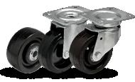 Термостойкие колеса и ролики для пекарен