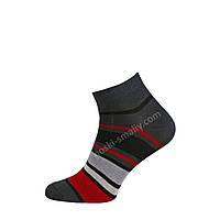 Мужские демисезонные плотные носки в полоску , фото 1