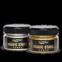 Глиттеры (Блестки) MAGIC STARS Голубое сияние 60 гр