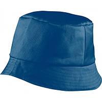 Красивая хлопковая панама BOB HAT MB006 синяя