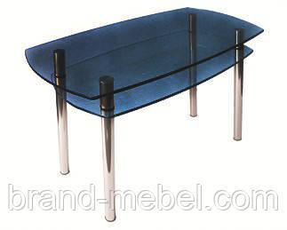 Стол стеклянный КС-2 тонированный