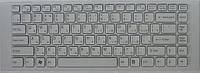 Клавиатура для ноутбука SONY (VPC-EG series) rus, white