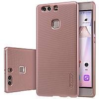 Чехол Nillkin для Huawei P9 Plus розовый (+плёнка)