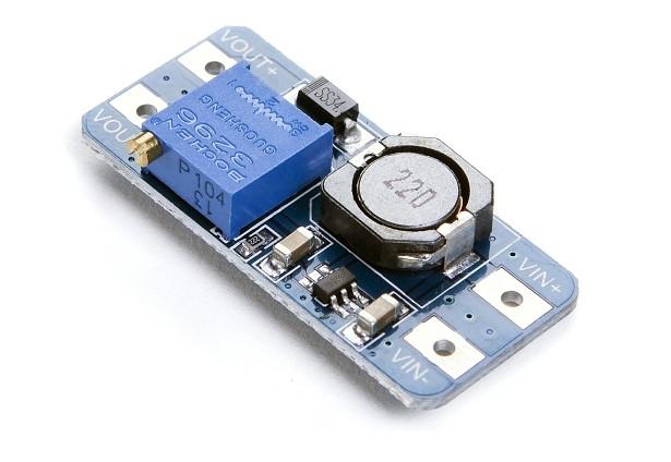 MT3608 стабілізатор модуль підвищуючий DC/DC