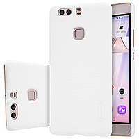 Чехол Nillkin для Huawei P9 Plus белый (+плёнка)