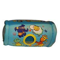 Валик надувной для детей, с погремушками, MS 0650