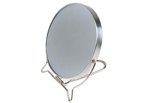 Зеркало настольное Sibel 11см на металлической оправе