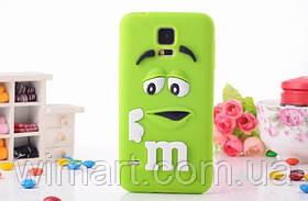 Чехол M&M's для Samsung Galaxy S5 зеленый