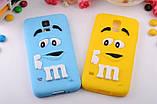 Чехол M&M's для Samsung Galaxy S5 голубой, фото 2