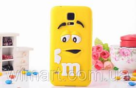 Чехол M&M's для Samsung Galaxy S5 желтый