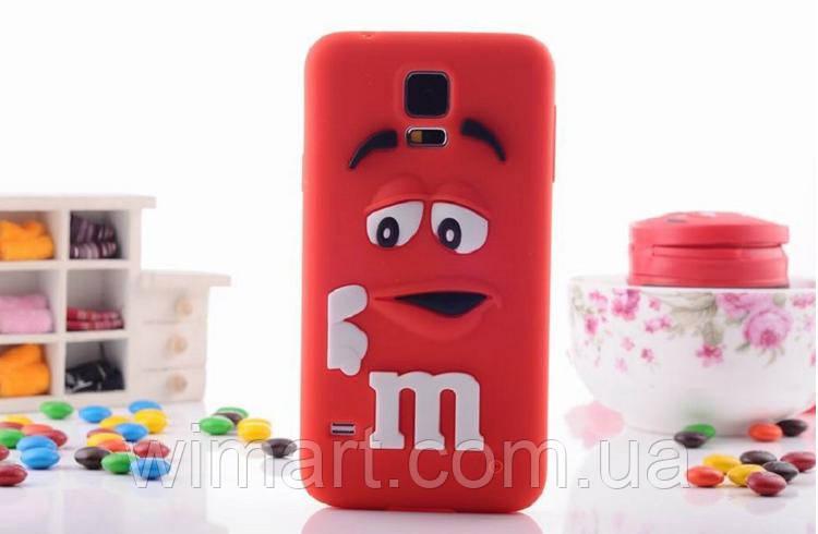 Чехол M&M's для Samsung Galaxy S5 красный
