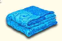 Одеяло шерстяное полуторное 1,50*2,20 полиэстер