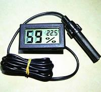 Термометр + гігрометр зі щупом, фото 1