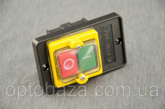 Кнопка Вкл/Выкл 6 зажимов для бетономешалки, фото 2