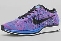Женские кроссовки Nike Flyknit Racer violet