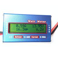 Ваттметр ватт вольт ампер метр тестер 100А 60В, фото 1