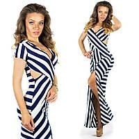 Синее платье 15550
