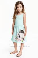 Платье летнее для девочки H&M на 2-4, 4-6, 6-8 лет
