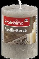 Profissimo Rustikkerze taupe - Свеча декоративная цвет серо-коричневый длина 80 мм, диаметры 58 мм,