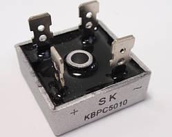 Диодный мост KBPC5010 1000В 50А